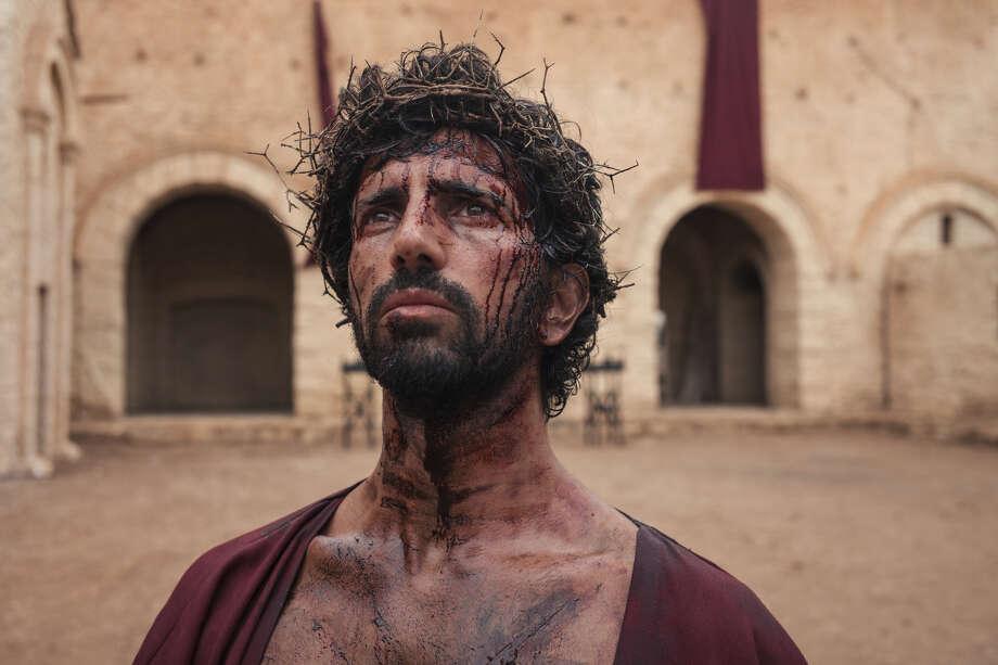 "Greg Barnett stars in History's ""Jesus: His Life."" Photo: Photo Credit: José Sarmento Matos / History"