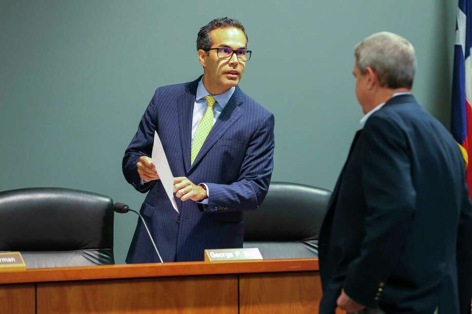 "Texas Land Commissioner George P. Bush has recused himself four times since he took office in 2015, citing ""personal relationships."" Photo: Mark Mulligan, Staff Photographer / © 2018 Mark Mulligan / Houston Chronicle"