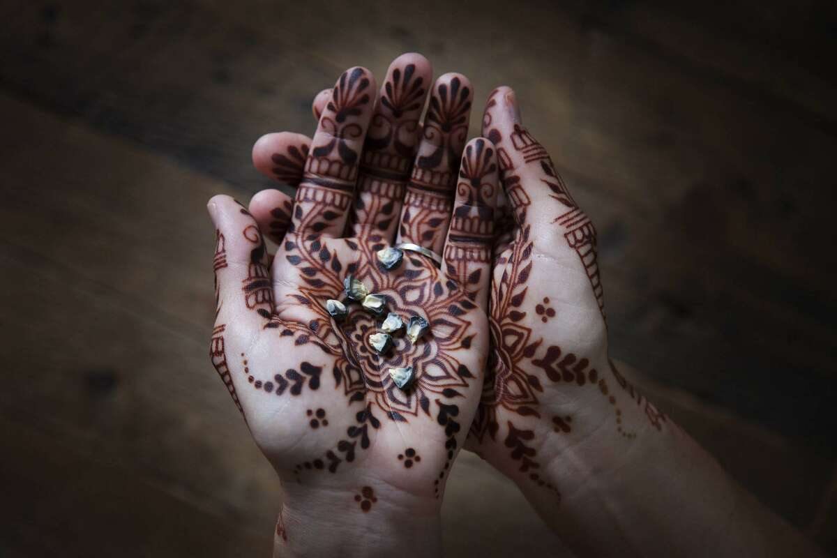 Spectrum/Elyse Sadtler is the owner of Henna By Elyse, which specializes in henna art, featuring a variety of intricate patterns and motifs drawn on the skin with henna paste. Her mobile business is based in Kent. February 2019 Courtesy of Jonathan Beckerman