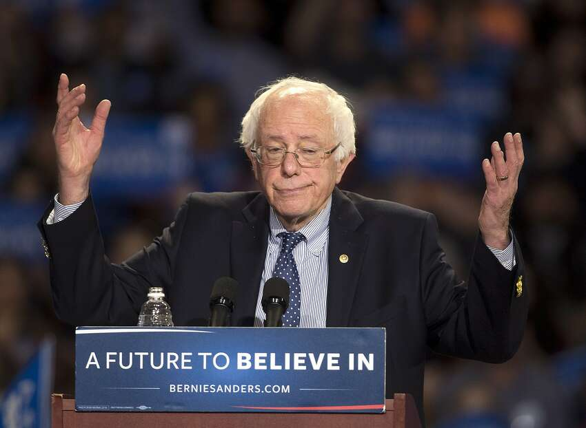 Sen. Bernie Sanders, I-Vt., vowed to support the eventual Democratic presidential nominee, saying he held no grudges against the Democratic National Committee over his 2016 campaign.