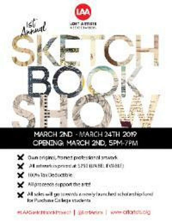 "Stamford Loft Artists' ""Sketchbook Project,"" a collective exhibition in partnership with Purchase College, is running March 2-24 in Stamford before moving to Purchase, N.Y. Photo: Loft Artists Association / Contributed Photo"