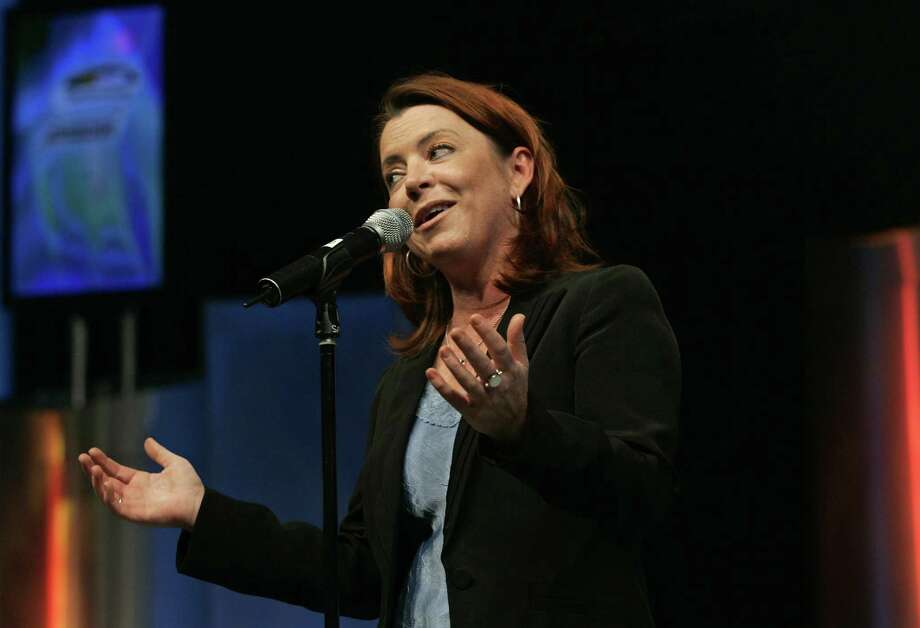 Kathleen Madigan at a Florida gig in 2008. Photo: Reinhold Matay / AP Photo / FR156687 AP