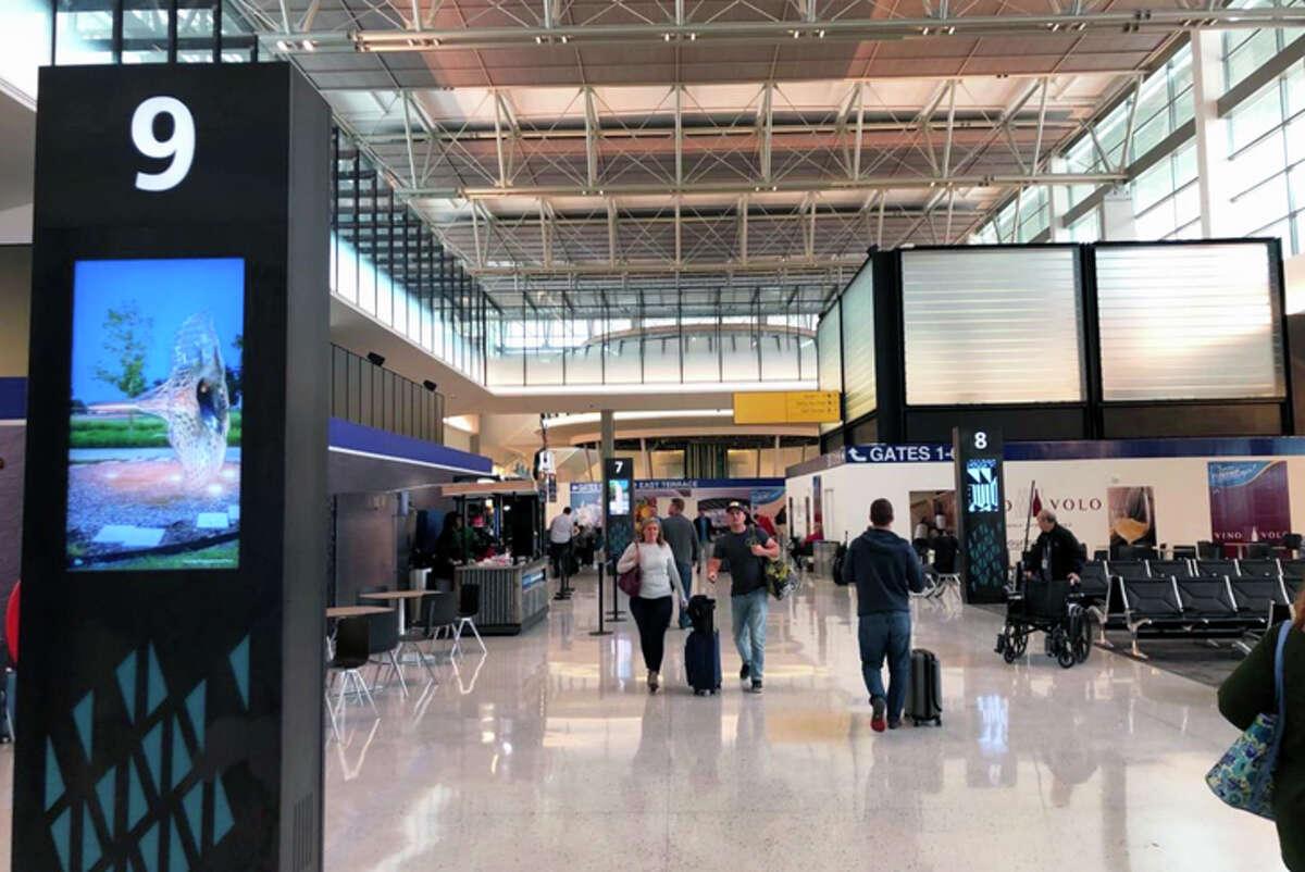 Austin-Bergstrom's Barbara Jordan Terminal has more gates.