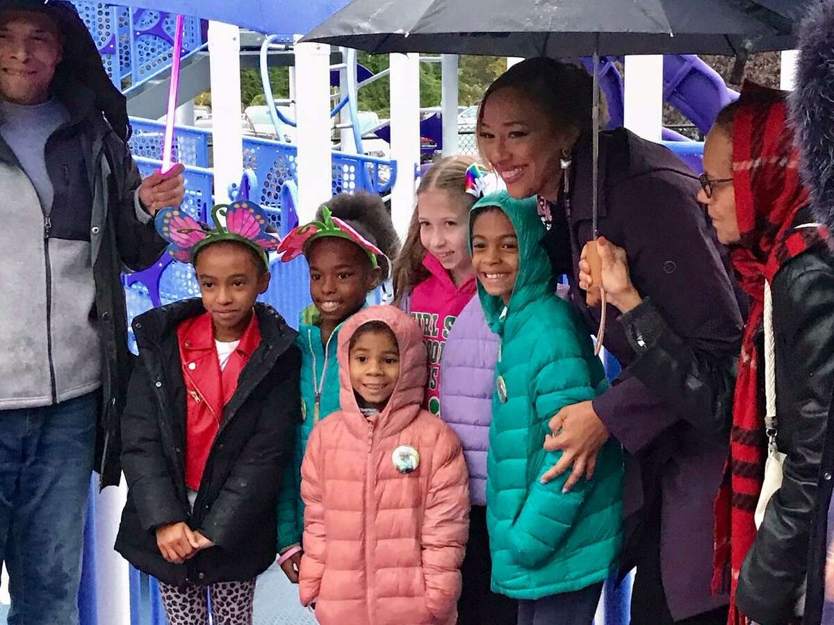 Gabrielle's Wings completed a new accessible playground in November in Gabrielle White's hometown of New Rochelle, N.Y.