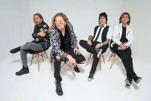 Mexican rock band Mana.