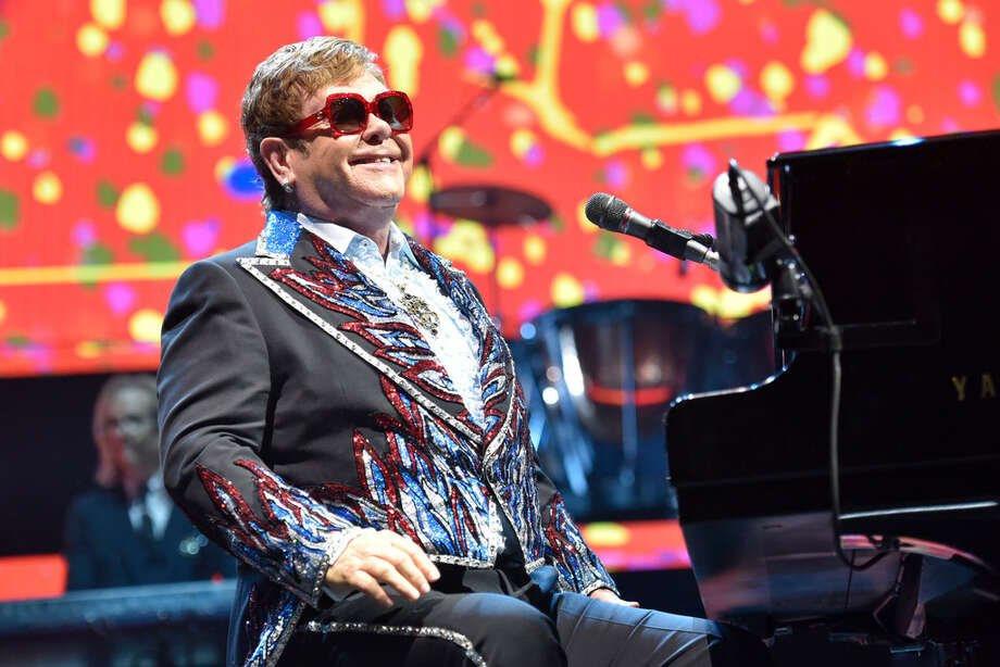 """Click through the slideshow for a collection of trivia on Elton John as he embarks on his """"Farewell Yellow Brick Road"""" tour. Photo: Rob Grabowski/Invision/A-P"""