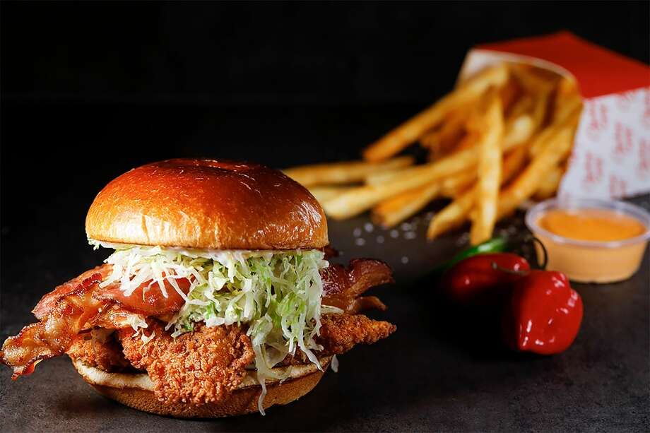 """Guy Fieri, and restaurateur, Robert Earl, have launched the """"Chicken Guy!"""" fast food chain. Photo: Disney"""