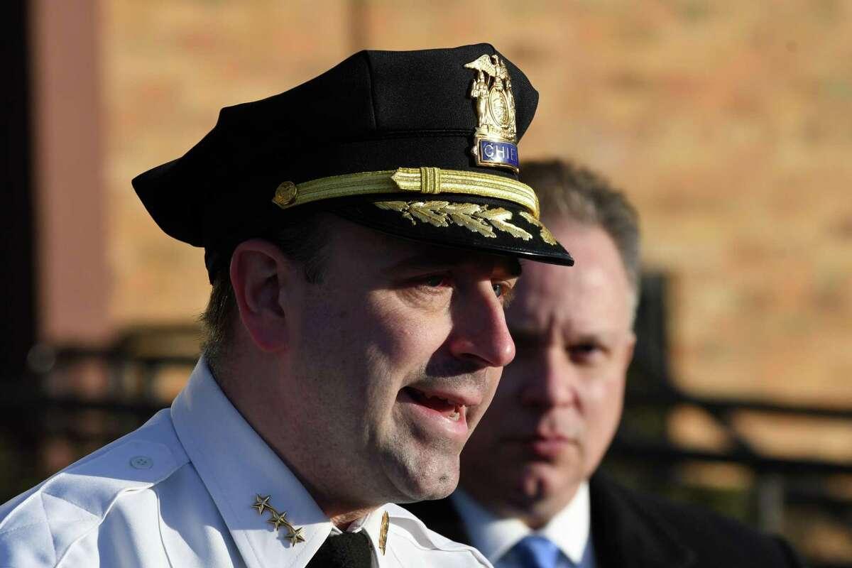 North Greenbush Police Chief David Keevern (Will Waldron/Times Union)