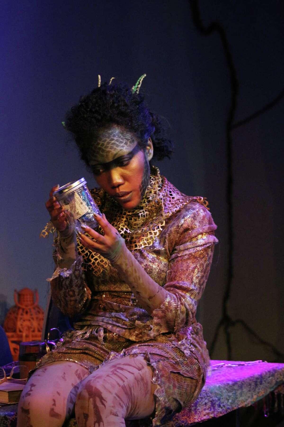 "Callina Situka in Landing Theatre Company's ""Gambrels of the Sky."""