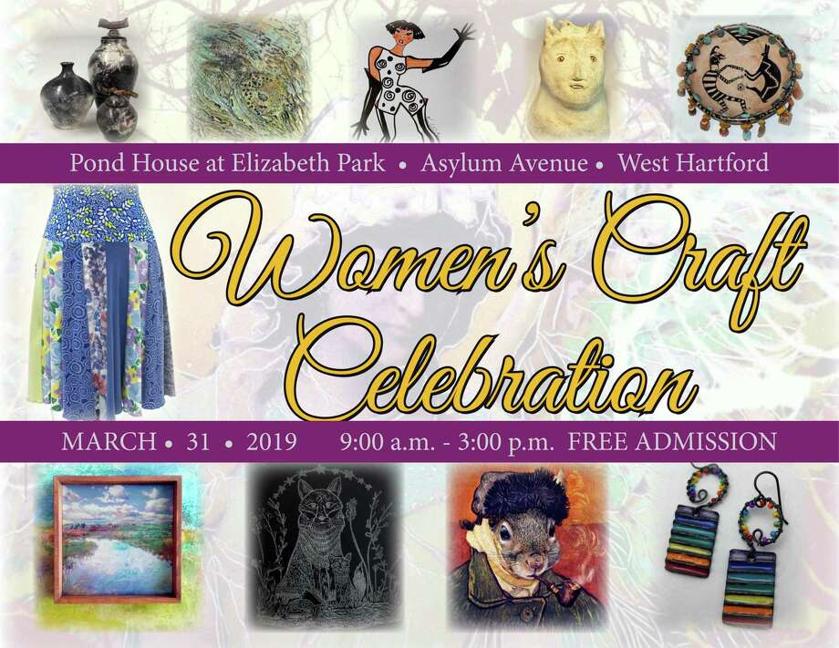 Women artists are hosting a spring craft show in West Hartford in March. Photo: Contributed Photo