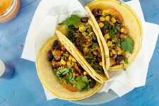 Order veggie tacos with beans, corn, greens, and salsa on a corn tortilla. Here are some fail-safe, vegan friendly foods that you can order at the Houston rodeo. Here are some fail-safe, vegan friendly foods that you can order at the Houston rodeo. Here are some fail-safe, vegan friendly foods that you can order at the Houston rodeo.