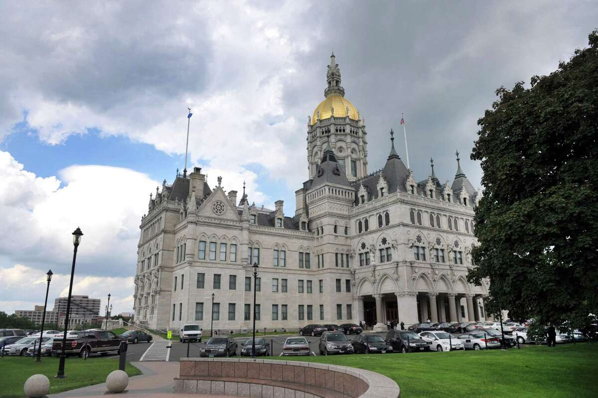 The state Capitol building in Hartford.
