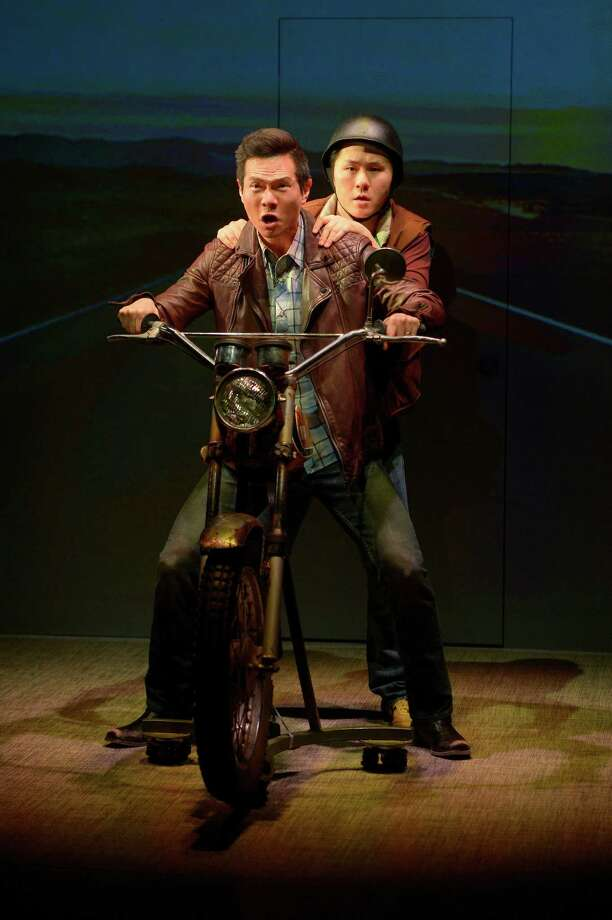 """Quang (James Seol, front) and friend Nhan (Stephen Hu, back) in American Conservatory Theater's """"Vietgone."""" Photo: Kevin Berne, American Conservatory Theater / © 2015 Kevin Berne Image"""