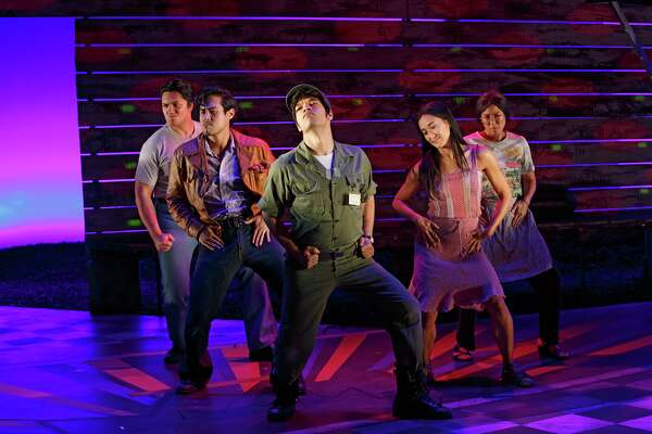 """New York City production of """"Vietgone,"""" which will come to Houston in 2019."""