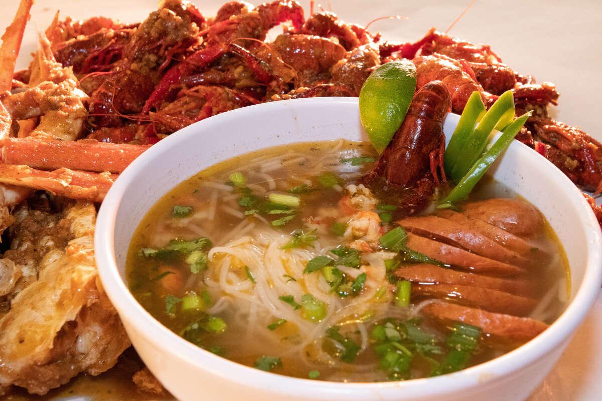 LA Crawfish, multiple locations, visit thelacrawfish.com.