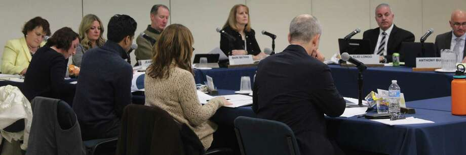 The Westport Board of Education passed a $118,500,464 operating budget for the 2019-2020 school year at its meeting Monday night. Photo: Sophie Vaughan / Hearst Connecticut Media / Westport News