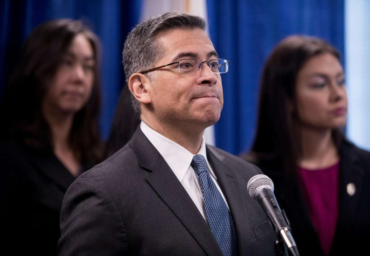 California Attorney General Xavier Becerra's credentials in health care are being questioned by Senate Republicans.