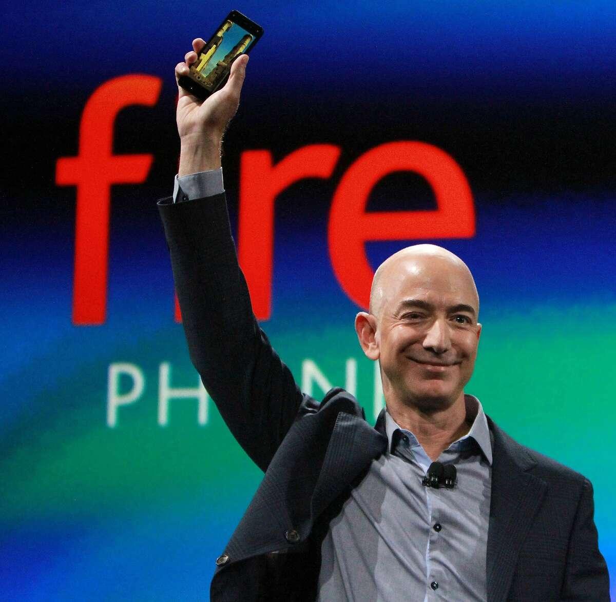 #1 Jeff Bezos & family Amazon founder Net worth: $131 B