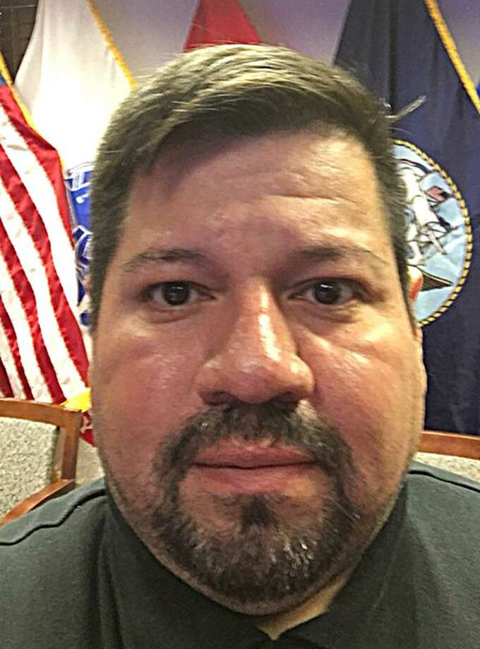 Rick A. Benavides, a contractor for the Defense Logistics Agency charged with attempted enticement of a minor, is taken back to jail Tuesday, Feb. 26, 2019.