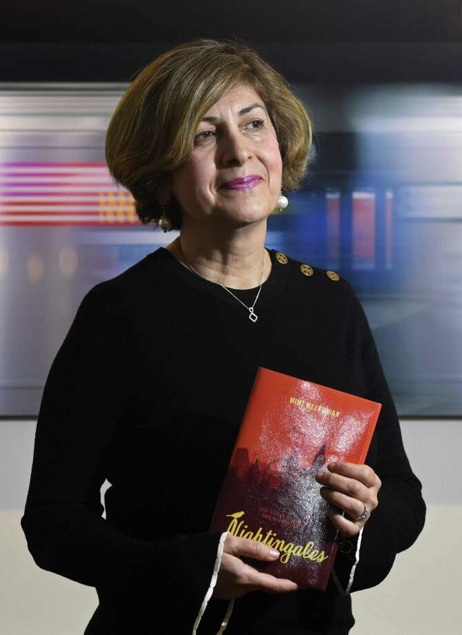 """The Greenwich Historical Society will host Mimi Melkonian as she discusses her new book, """"Nightingales,"""" which is about the plight of refugees who have escaped war-torn Syria. The event will be from 6 to 7 p.m. Monday at the society on Strickland Road. She is also a teacher at Brunswick School. Photo: Tyler Sizemore / Hearst Connecticut Media / Greenwich Time"""