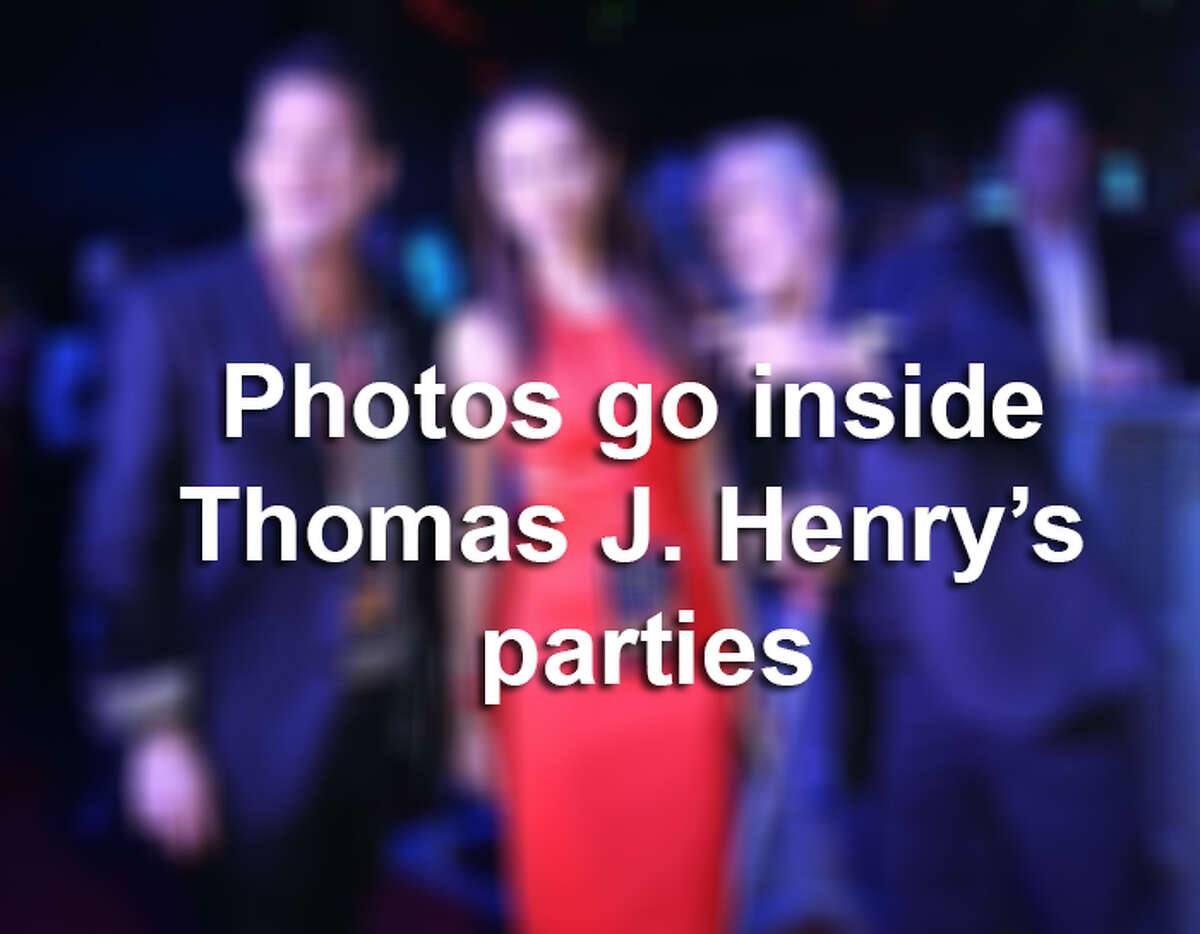 Click ahead for an insider's view of Thomas J. Henry's exclusive parties.