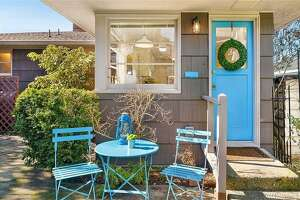 Sweet Queen Anne abode asking $90K has views and its own personal private Tiki bar
