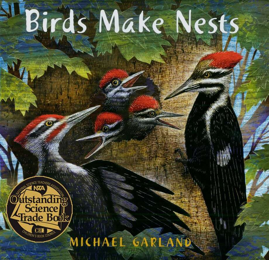 """Author/illustrator Michael Garland will present a children's talk and book signing at Sherman Library March 13 at 1:30 p.m. He will sign copies of his """"Birds Make Nests"""" book. Photo: Contributed Photo / Contributed Photo / The News-Times Contributed"""