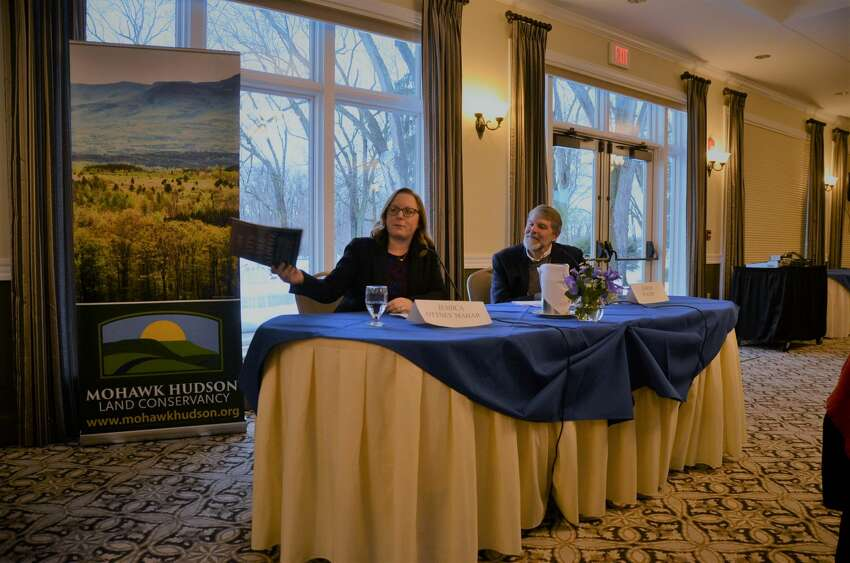 Were you Seen at the Mohawk Hudson Land Conservancy's Awards Dinner & Climate Panel at the River Stone Manor in Schenectady on Feb. 24, 2019?