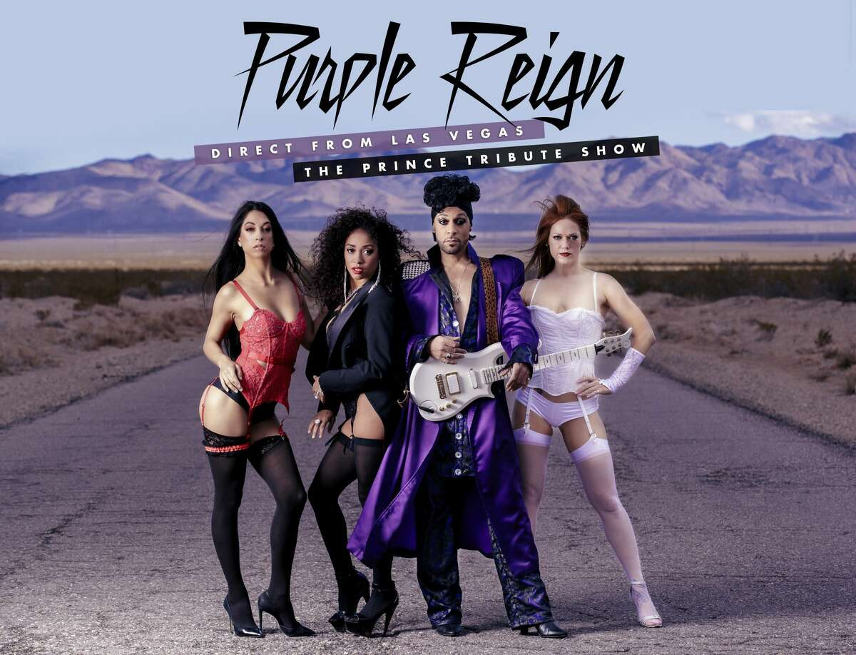 The Prince tribute show Purple Reign appears May 16 at the Egg in Albany.