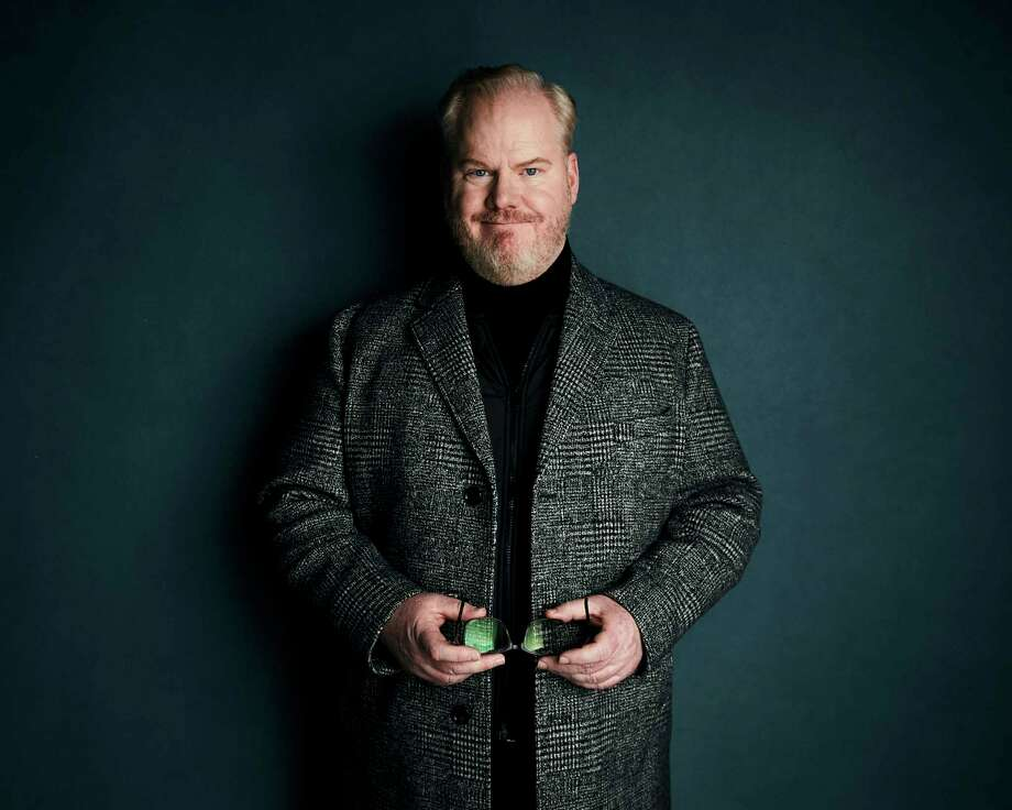 """Jim Gaffigan poses for a portrait to promote the film """"Light From Light"""" at the Salesforce Music Lodge during the Sundance Film Festival on Monday, Jan. 28, 2019, in Park City, Utah. (Photo by Taylor Jewell/Invision/AP) Photo: Taylor Jewell / 2019 Invision"""