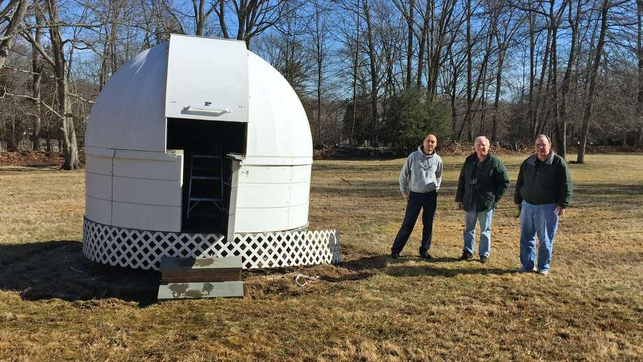 The Westport Astronomical Society is trying to raise enough money to install a new dome. Photo: Submitted /ShannonCalvert