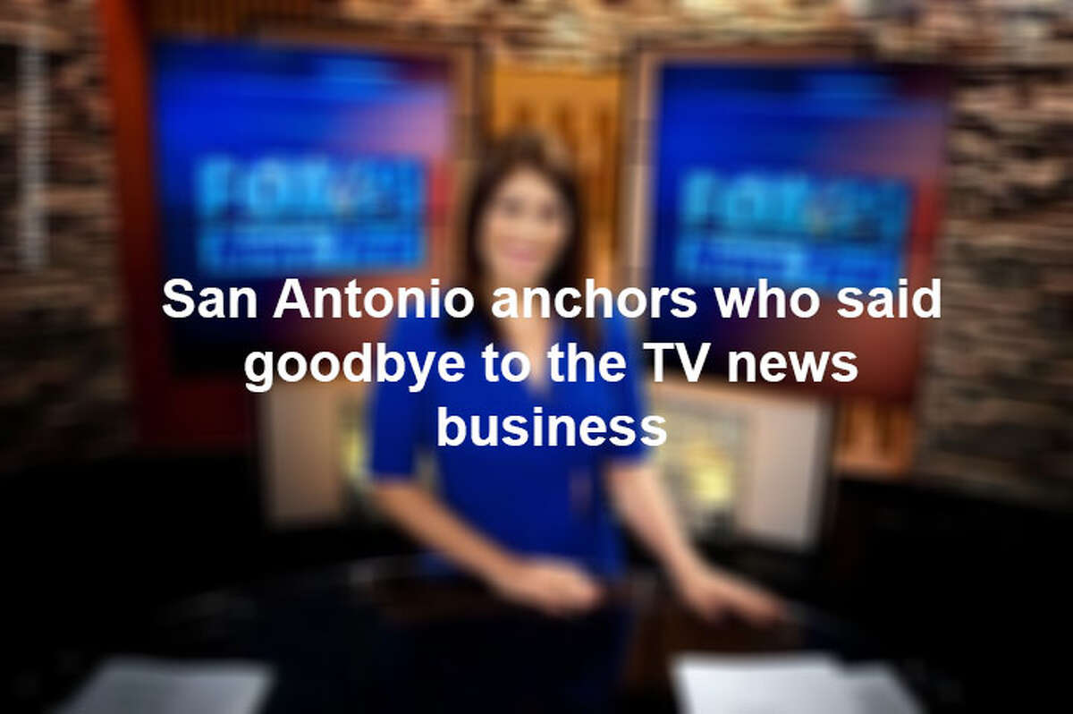 Click through the slideshow to see which San Antonio anchors left TV news.