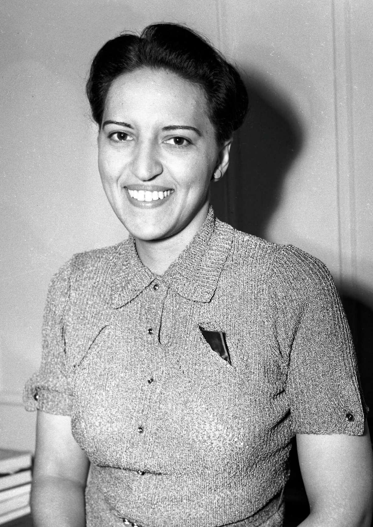 Judge Jane Bolin shown at her home in New York after she was sworn in as a family court judge on July 22, 1939. She was the nation's first black female judge and the first black woman to graduate from Yale Law School. She died in 2007 at age 98.