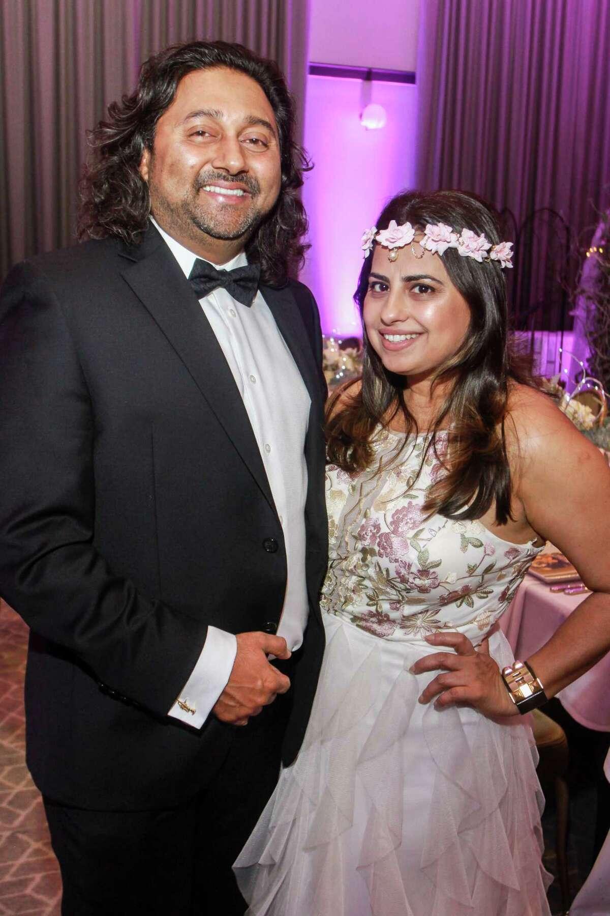 Sterling Ablack and Ruchi Mukerjee at the Ars Lyrica gala.