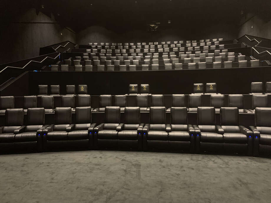 Inside the new AMC Metropark Square 10 theater in Shenandoah. Photo: AMC Theatres
