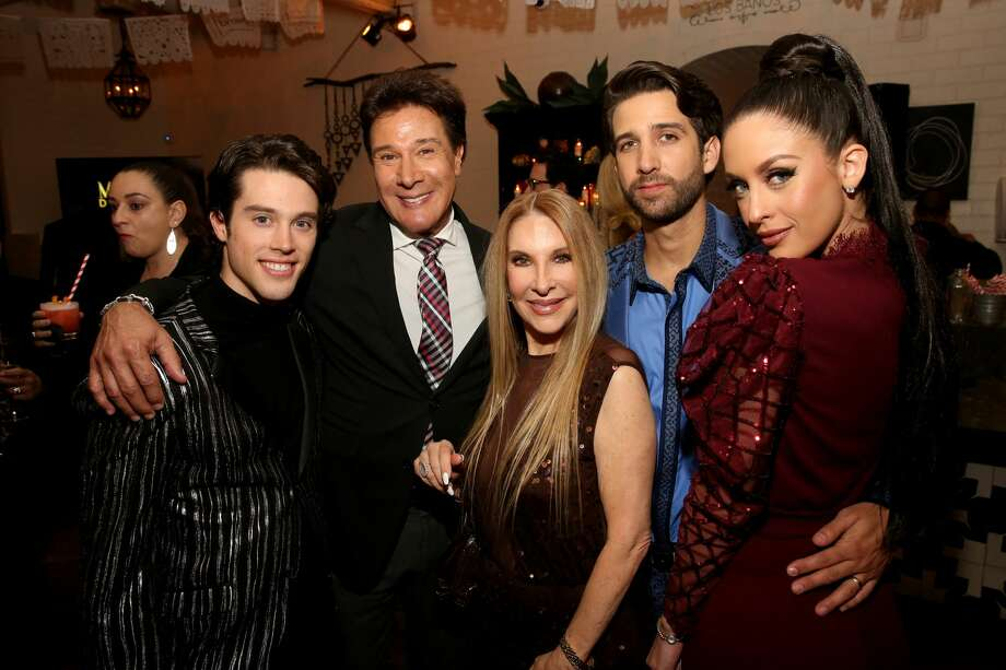 "BRAVO EVENTS -- ""The Real Housewives of Beverly Hills"" and ""Mexican Dynasties"" Premiere Party -- Pictured: (l-r) Adan Allende, Fernando Allende, Mari Allende, Elan Allende, Jenny Allende -- (Photo by: Jesse Grant/Bravo/NBCU Photo Bank via Getty Images) Photo: Bravo/NBCU Photo Bank Via Getty Images"