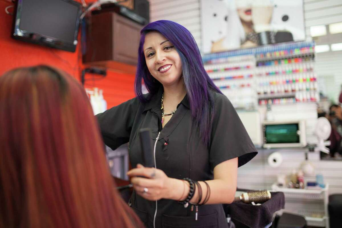 Susana Ugalde, who ownsa hair salon in the Jackson Heights area of Queens, N.Y., has received 16 loans from Grameen America. This microfinance organization provides small-dollar loans to women entrepreneurs, and it recently opened a Houston location.