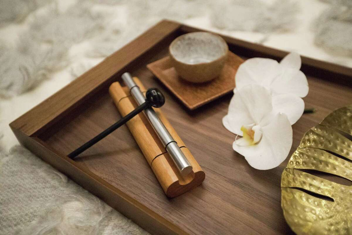 Soothing instruments at the Spa at the Post Oak Hotel