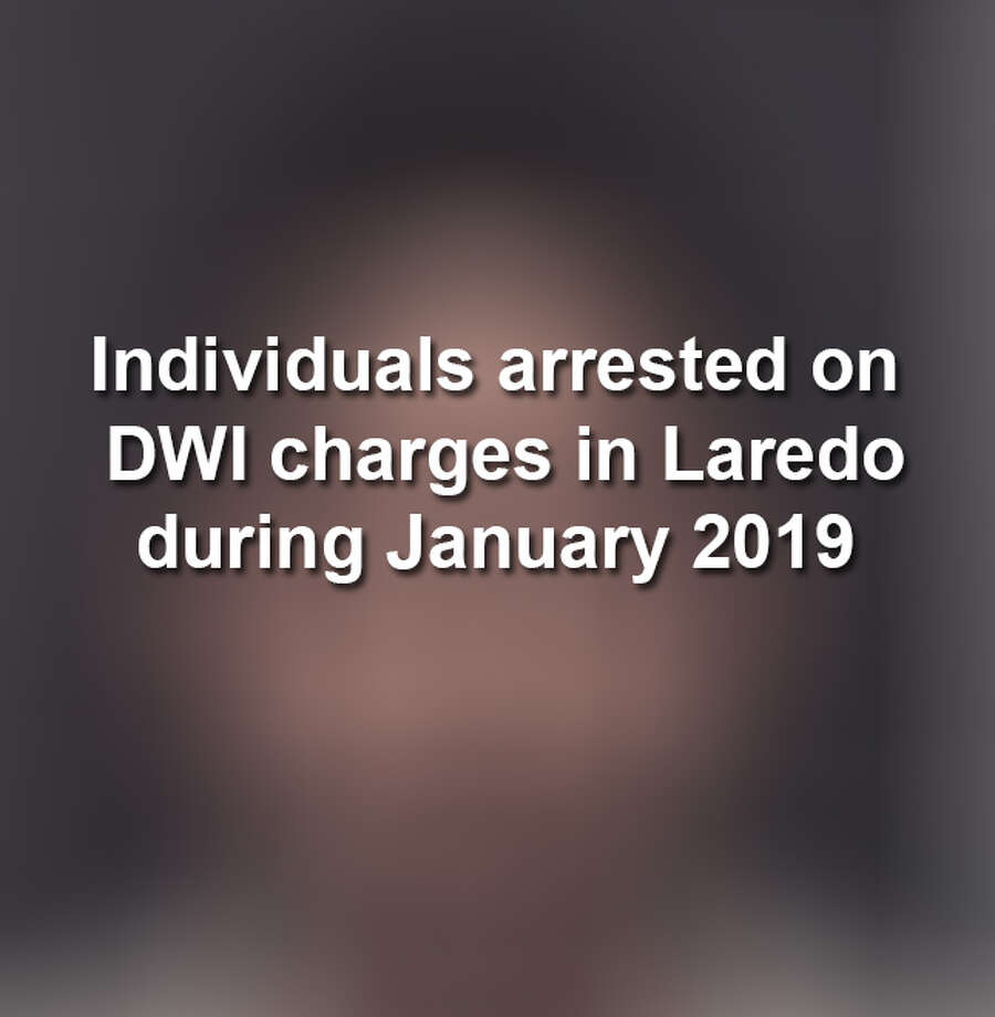 Keep scrolling to see the mugshots of individuals charged with misdemeanor and felony DWI charges last month in Laredo, according to police records. Photo: Laredo Police Department