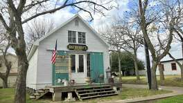 Owners Shelly and Joel Geshay moved and renovated the old building that holds their Bayberry's Antiques shop.