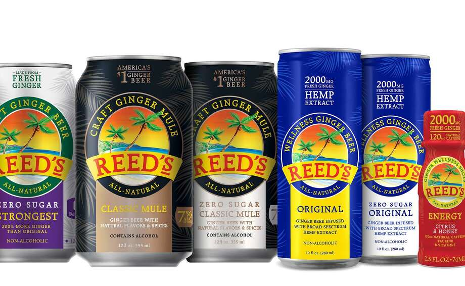Reed's will offer first tastes of its innovations at Natural Products Expo West in early March 2019 in Anaheim, Calif. Photo: Hand-out / Reed's, Inc. / Reed's, Inc.