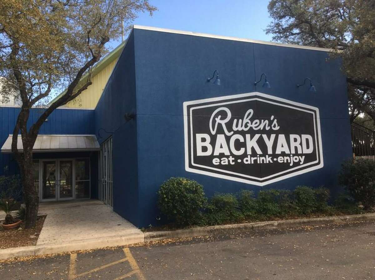 Ruben's Backyard is now open at 13838 Jones Maltsberger Rd., inside the former space of MoMak's Backyard Malts & Burgers.