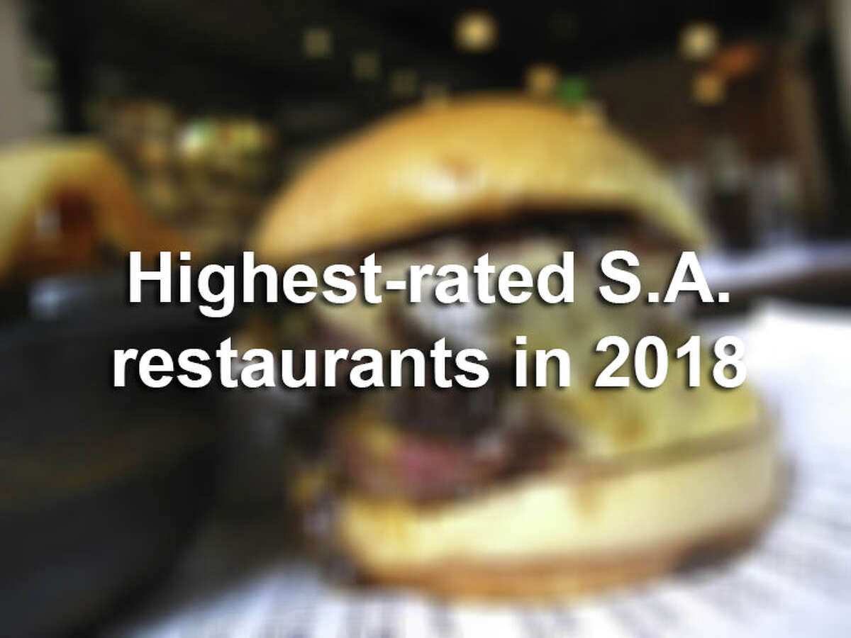 Tex-Mex diners, barbecue joints, steakhouses: All of these styled restaurants and more made our list of highest-rated eateries in San Antonio in 2018.