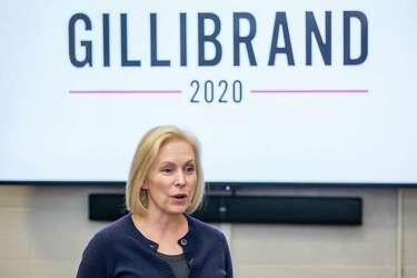 Image result for photos of Senator Gillibrand ABBAS MALIK