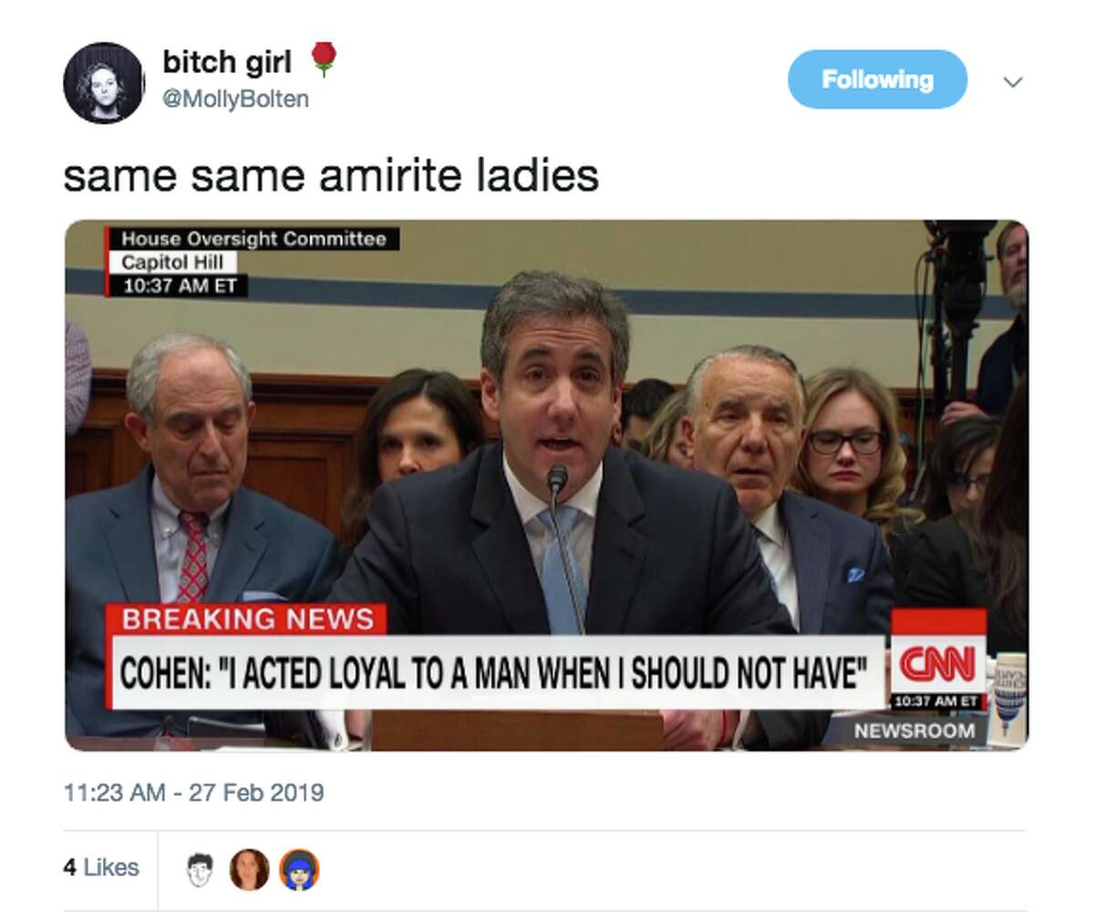 Twitter reacts to Michael Cohen's testimony to Congress on Feb. 27, 2019.