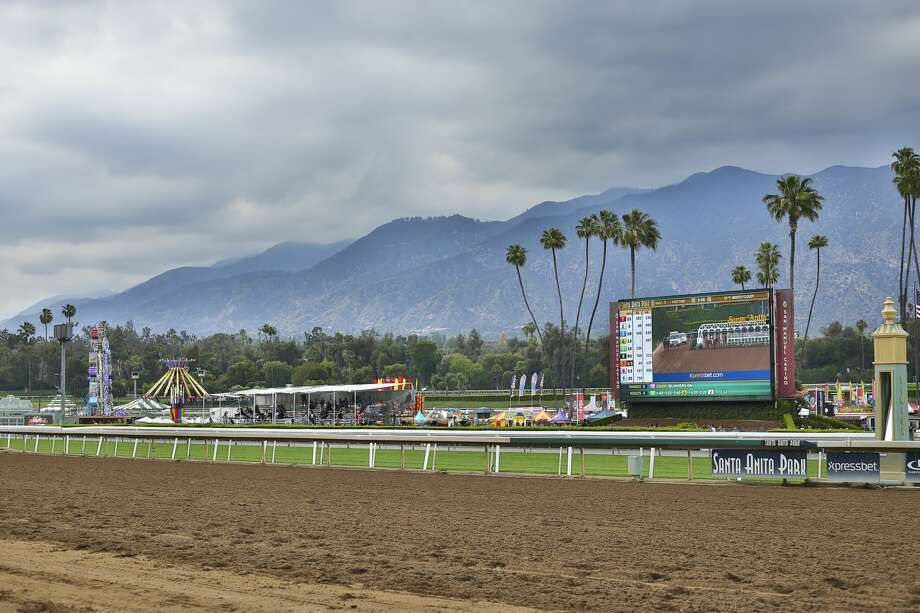 Santa Anita racetrack is closed indefinitely after an unusual number of horse fatalities.  Photo: Tasia Wells/Getty Images