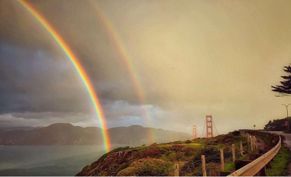 There were some amazing rainbows over the Bay Area in February, including this one captured by @brukdahl .