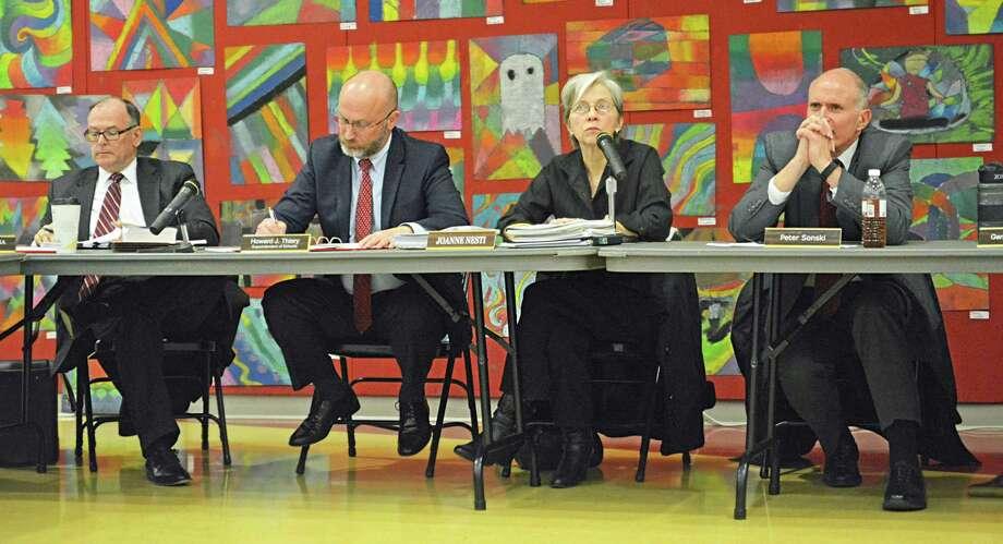 Haddam-Killingworth Board of Education members Photo: Cassandra Day / Hearst Connecticut Media