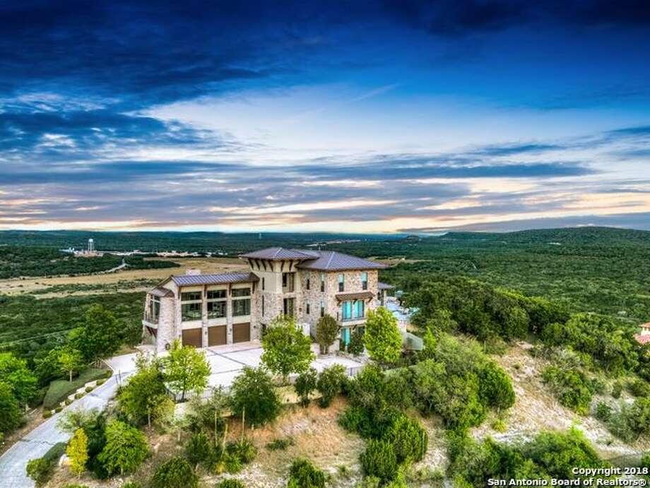 42 Vineyard Dr San Antonio, TX 78257 Listing Price: $3,750,000 Bedroom/bathroom: 4 bedrooms, 5 full bath, 1 ½ bath Year built: 2007 Neighborhood: Dominion  For the full listing, click here.  Photo: Har.com