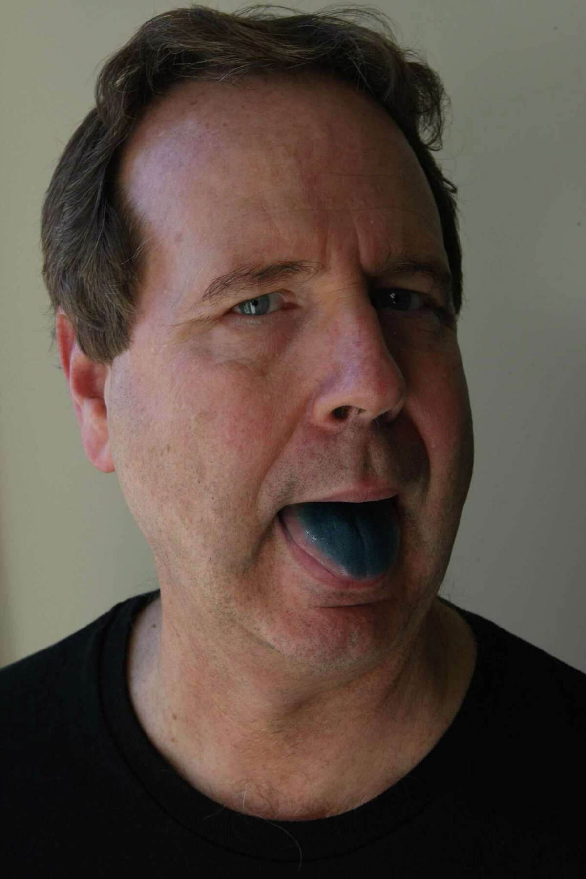 Tim Hanni has a way of determining what kind of wines one likes by testing buds on the tongue. He tests tongues by photographing them with food color. Hanni will be featured at the upcoming Wine and Food Week in The Woodlands in June.